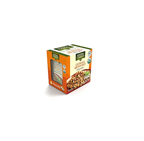 Seeds of Change Certified Organic Quinoa and Brown Rice with Garlic 8.5 oz, 6 pk. A1