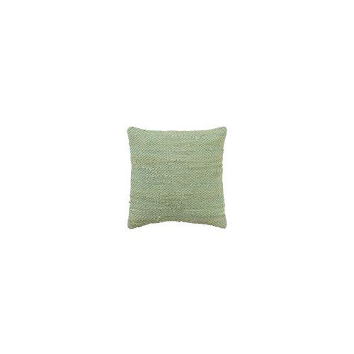J-line - Cojín de Ganchillo de algodón, Color Verde: Amazon ...