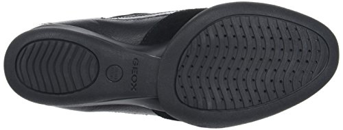 Geox D Persefone a, Zapatillas para Mujer Negro (Black C9999)