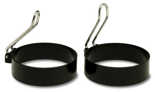 Amco Non-Stick Egg/Pancake Ring Mold, Set of 2 by Amco (Image #1)