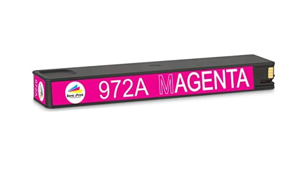 577dw Magenta 477dn Works with: PageWide Pro 352dw 377dn 552dw 477dw 452dw 377dw InkSurf Remanufactured Inkjet Replacement for HP L0R89AN 452dn 577z 972A
