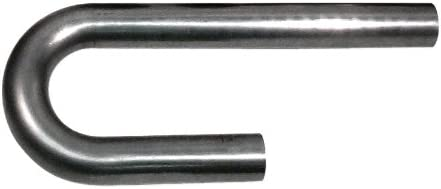 Patriot Exhaust H6913 1-7//8 304 Stainless Steel J-Bend Exhaust Pipe