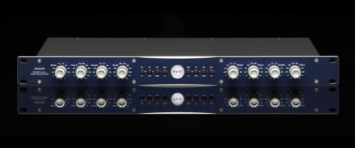Elysia Nvelope Stereo/Dual Mono EQ & Dynamics Processor with Multimode Operation, Auto Gain, and Dual EQ Capabilities by Elysia