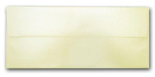Stardream Opal Envelope (Stardream Metallic No. 10 Square Flap Envelopes (Opal))