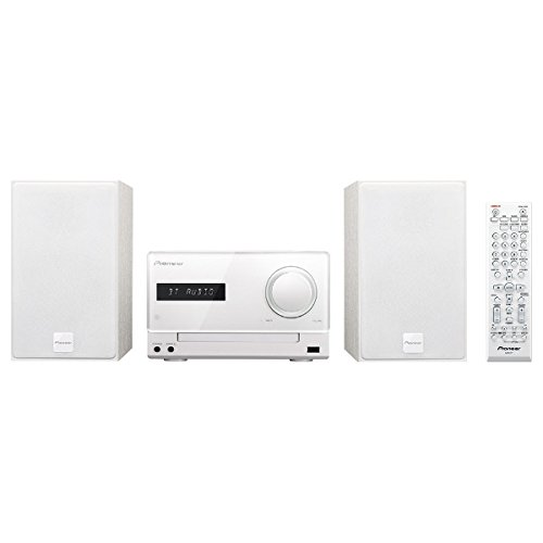 Pioneer CD mini component system X-CM35-W White