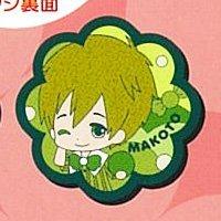 Taito lottery Free! Pop candy rubber badge Award Makoto Tachibana separately