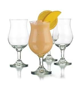 Libbey 13-Ounce Poco Grande Glass, Clear, 4-Piece
