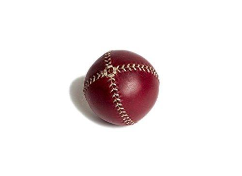 レモンボール野球。Burgundy Horween Chromexcel Leather、ホワイトステッチlb-burg-wh B00US3DFDI