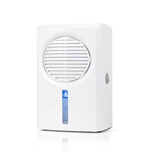 FCNEHLM Mini Dehumidifier Quiet Compact Portable Energy Efficient Dehumidifier Compact and Portable for Damp Air, in Home, Kitchen, Bedroom, Basement, Caravan, Office, Garage