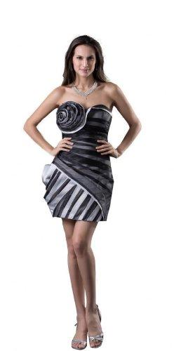 Orifashion para vestido de noche mujer corto Multicolor Multicolor