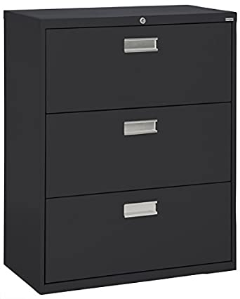 Superieur Sandusky Lee LF6A363 09 600 Series 3 Drawer Lateral File Cabinet,  19.25u0026quot; Depth