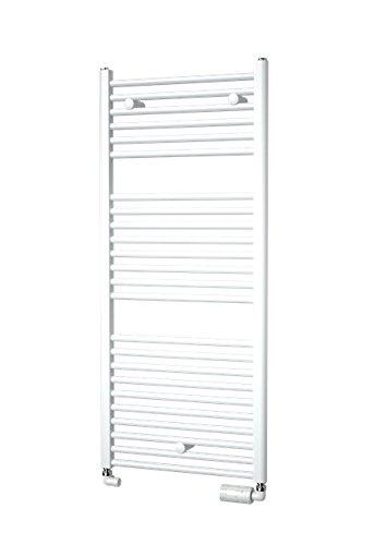 Coral- – Radiador para toallas – incluye Kit de grifo – Design plana 1135 x