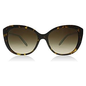 Tiffany 4130 81343B Havana 4130 Oval Sunglasses Lens Category 3 Size 56mm