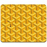 goyard-yellow-mousepad