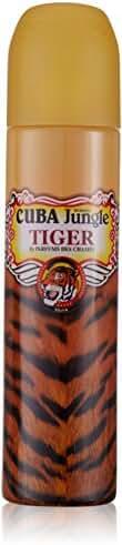 Cuba Jungle Tiger Cuba Eau De Parfum Spray for Women, 3.4 Ounce