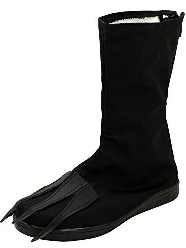 GOTEDDY Bottine Adult Men Black Middle Boots Halloween Cosplay Flat -