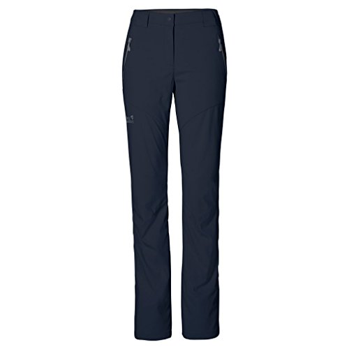 Jack Wolfskin Women's Activate Light Pants, Night Blue, Size 38 (US 29)