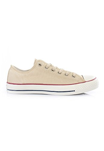 Converse Chuck Taylor All Star Wash Ox - Zapatillas de Deporte de canvas Unisex Natural