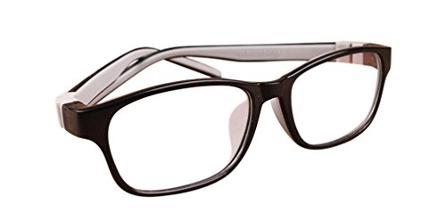 De Ding Children Silicone Opical Glasse Frame (c9 black - Glasse Prescription