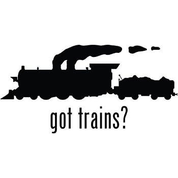 Amazon com: Got Trains Railway Railroad Vinyl Graphic Car