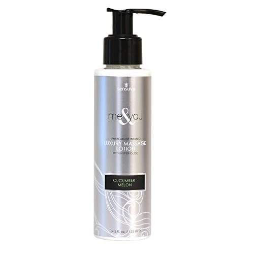 Me and You Massage Lotion - Cucumber Melon - 4.2 Oz. by Sex Toys Online Store