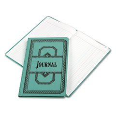 (Wholesale CASE of 10 - Esselte 66 Series Canvas Journal Books-Account Book, Journal-Ruled, 150 Pages, 12-1/8
