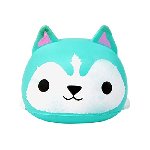 JPJ(TM)1Pcs Kids Hot Fashion Beauty Rabbit Slow Rising Cute Squishies Toy Squishes Stress Relief Toy (Sky Blue)