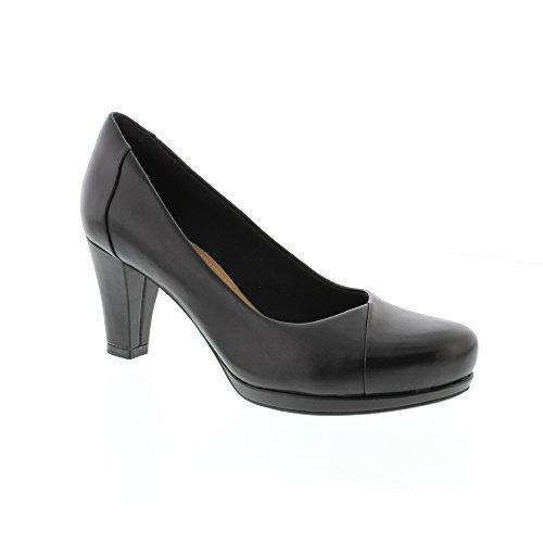 Clarks Chorus Carol, Zapatos de Tacón para Mujer negro