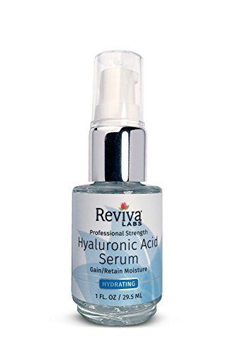 - Reviva Labs Hyaluronic Acid Serum, 1 Fluid Ounce