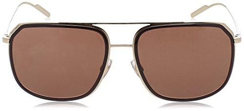 amp; DG2165 PALE Gabbana Sonnenbrille Dolce BROWN GOLD zOwdpznq