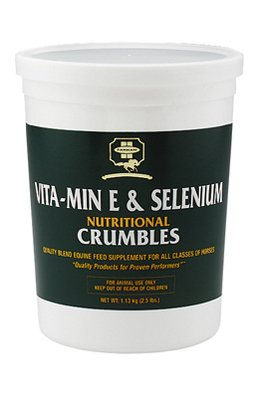 Central Life Science 81210 Vita Min E & Selenium Nutritional Crumbles For Horses, 2.5-Lbs. - Quantity 4 by CENTRAL GARDEN AND PET