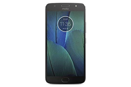 Motorola MOTO G5S Plus XT1805 32GB Dual Sim Factory Unlocked Cell Phone Lunar Gray International Model
