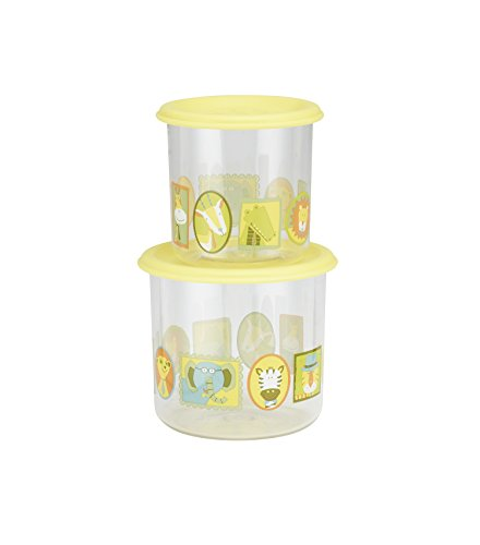 Sugarbooger Good Lunch Large Snack Container, It's a Jungle, 2 Count