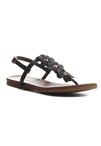 Inuovo 7137-black - Zapatillas para mujer negro negro