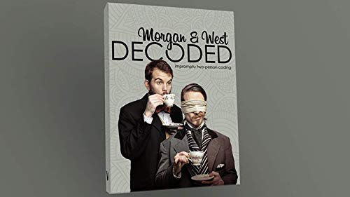 Decoded by Morgan and West DVD (Penn And Teller Fool Us Best Trick)