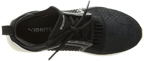 Scarpe da uomo Ignite Limitless Reptile Cross-Trainer, Puma Black, 8 M US