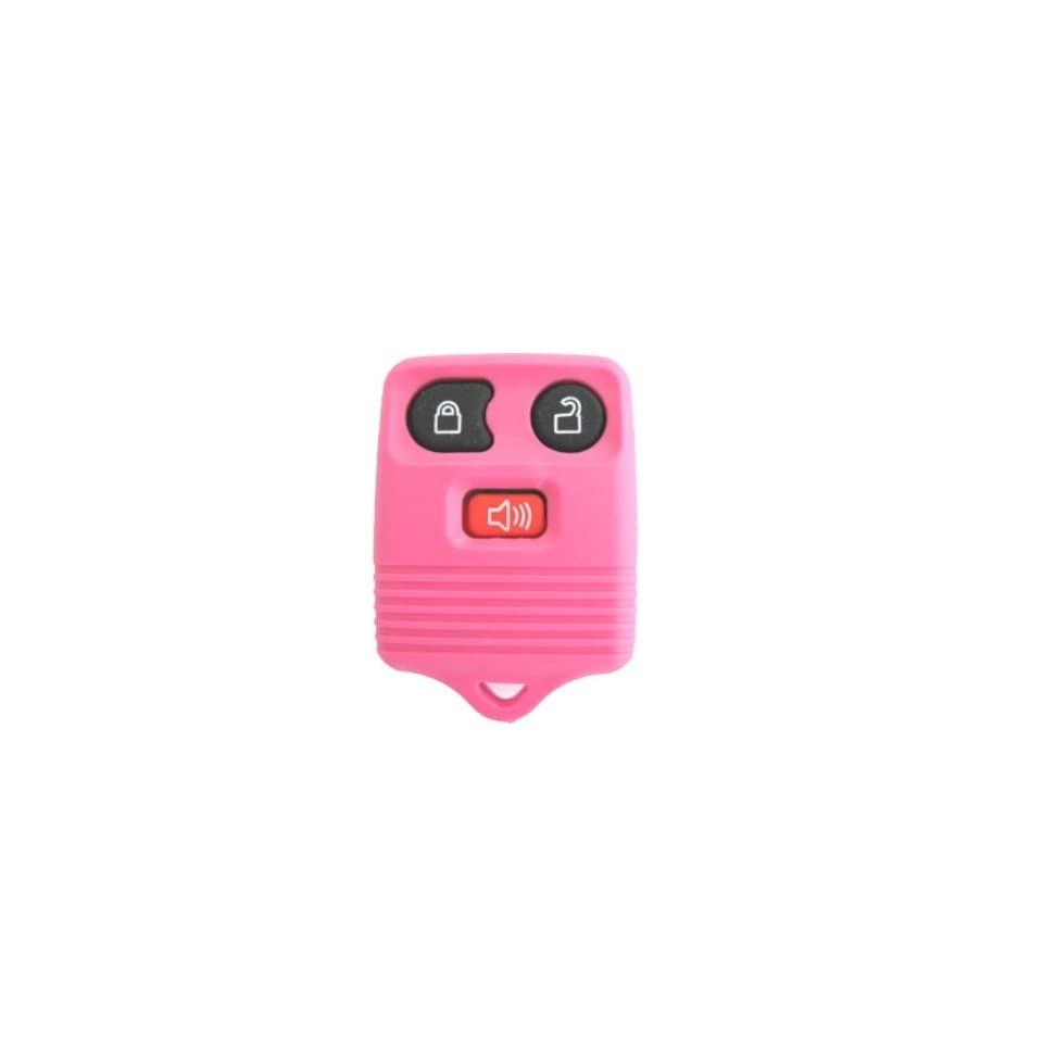 1999 2011 Ford F150 F250 F350 F550 Keyless Entry Remote Fob Clicker With Do It Yourself Programming + Discount Keyless Guide Unique Pink Color