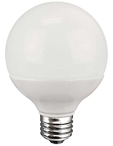 TCP G25, E26 Base, LED Globe Light Bulbs, 40W Equivalent, ENERGY STAR Certified, Dimmable, Soft - Candelabra Compact