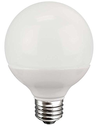 TCP G25, E26 Base, LED Globe Light Bulbs, 40W Equivalent, ENERGY STAR Certified, Dimmable, Soft White (E27 Compact)
