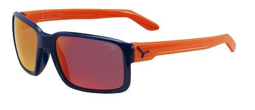 Cébé - Lunettes de soleil - Mixte Multicolore (Dude Shiny Blue Orange 1500 Grey FM Orange)
