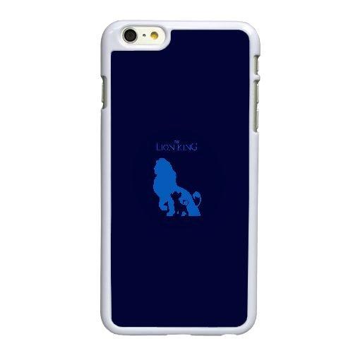 Z5D88 af Le Roi Lion art minimal bleu I3K3QY coque iPhone 6 4.7 pouces cas de couverture de téléphone portable de coque de DM0OXO5QS blancs