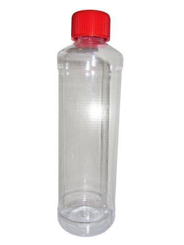 24 piezas Pet Botella redonda 500ml 0,5 litros con a prueba de niños Tapón