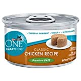 Purina One Smart Blend Cat Tender Chicken Food, 24 By 3 Oz. For Sale