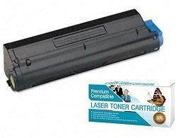 Ink Now Premium Compatible Oki-Okidata Black Toner 43979215 for B420, B420DN, MB480, MB480 MFP printers 12000 ()