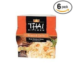 Thai Kitchen Rce Ndl Bwl Rstd Gar Wfm   Ounce Pack