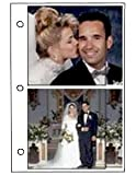 2-up GEMINI 3-ring 4x6 pocket white proof book