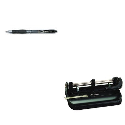 KITPIL31020SWI74350 - Value Kit - Swingline 32-Sheet Lever Handle Two- to Seven-Hole Punch (SWI74350) and Pilot G2 Gel Ink Pen (PIL31020)