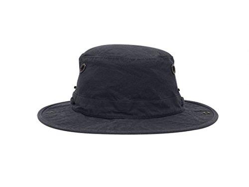 "Tilley T3 Wanderer Snap-Up Hat - Navy 7 3/8"""