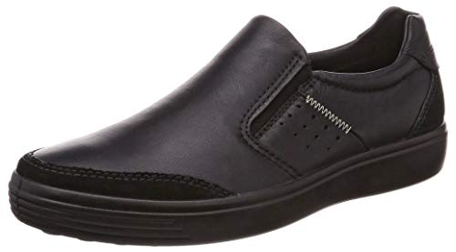 ECCO Men's Soft 7 Slip On Sneaker, Black Suede/Bla, 46 M EU (12-12.5 US) from ECCO