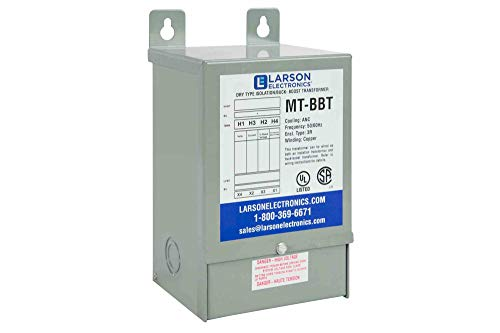 - 1-Phase Buck/Boost Step-Up Transformer - 208V Primary - 240V Secondary - 23.4 Amps - 50/60Hz